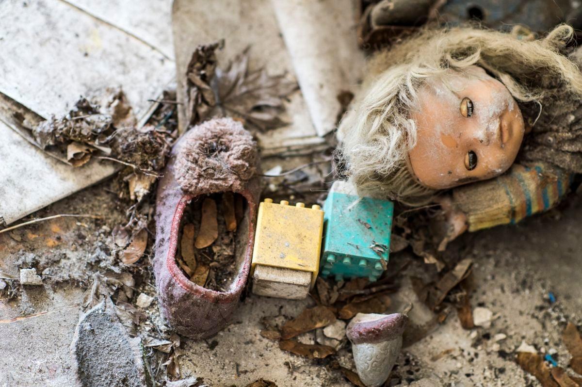 Ein weiteres Tschernobyl-Foto. Bild: Pit Bühler