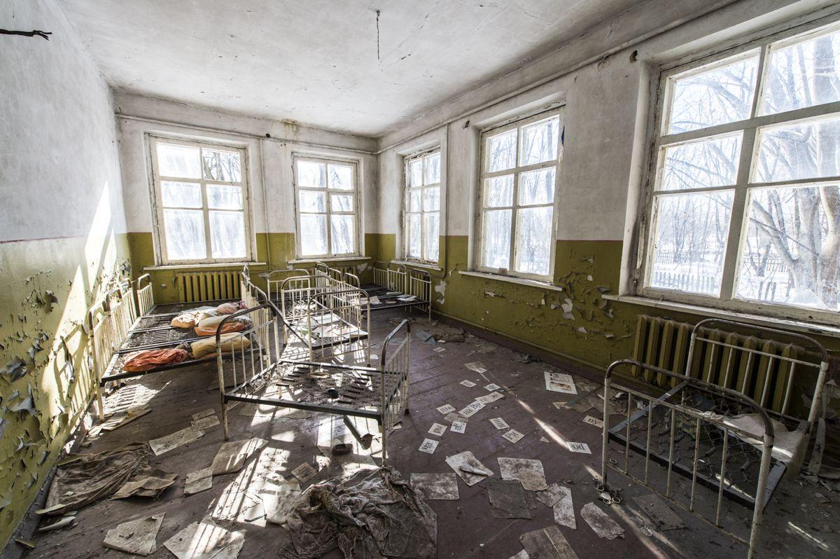 Ein Spital, in dem die Zeit stehen geblieben ist. Bild: Piet Bühler