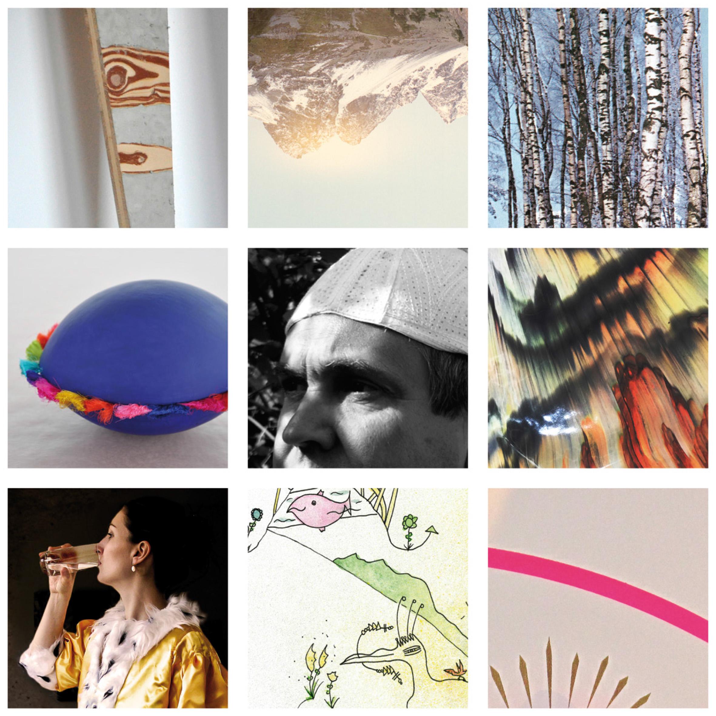 Verschiedene Bilder des Kunstforums.