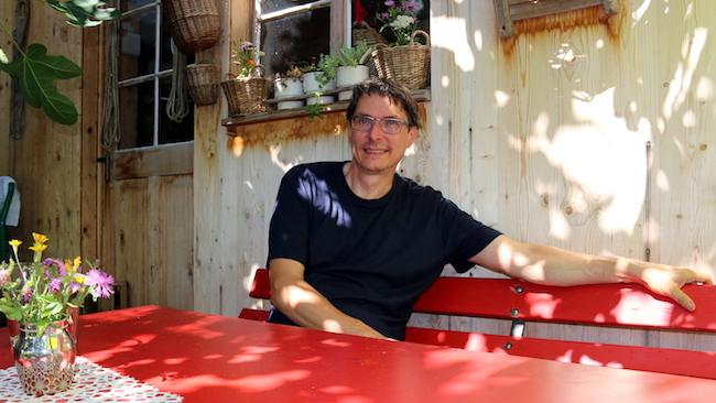 Einst erfolgreicher IT-Unternehmer, ist Bruno Muff heute Vollblut-Biolandwirt.