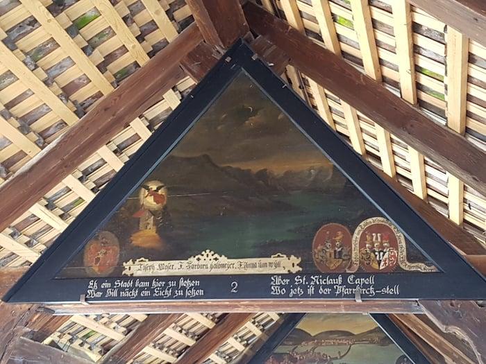 Die Luzerner Lichtsage auf der Kapellbrücke. Oder waren es doch die Fische, die der Stadt den Namen gaben?