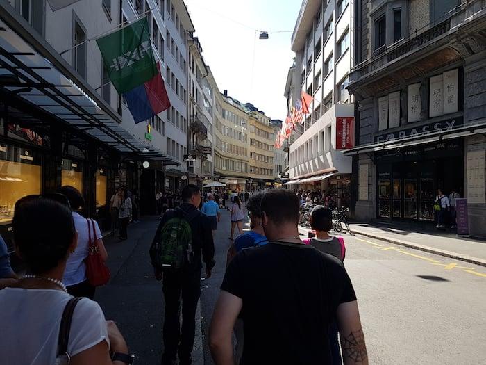 Der Löwengraben in Luzern hat nichts mit Löwen zu tun.
