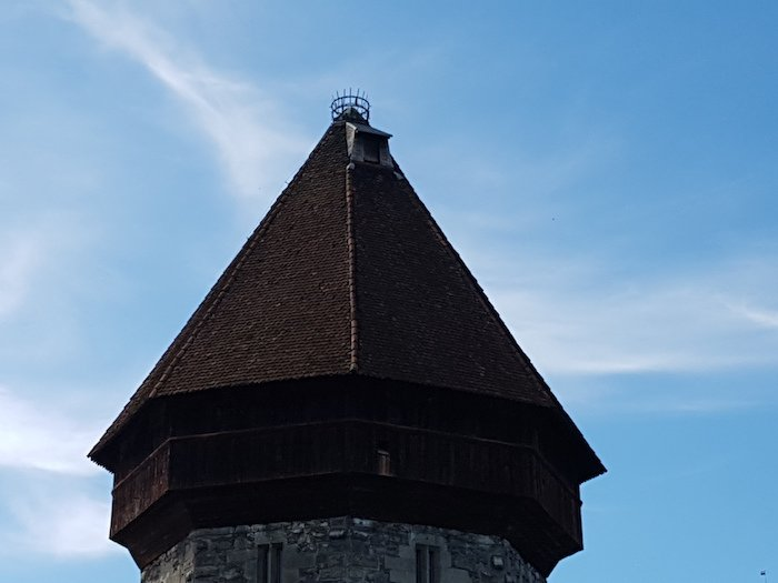 Der Wasserturm trotze nicht immer der Reuss.