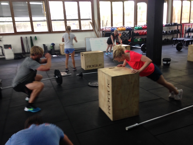 Pushen bis ans Limit, nichts weniger als das fordert das Training.