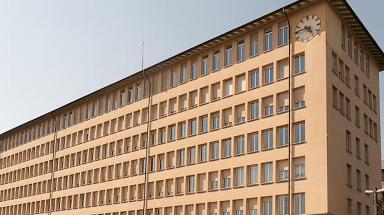 Hierhin soll's gehen: in das ehemalige Landis&Gyr-Gebäude an der Gubelstrasse.