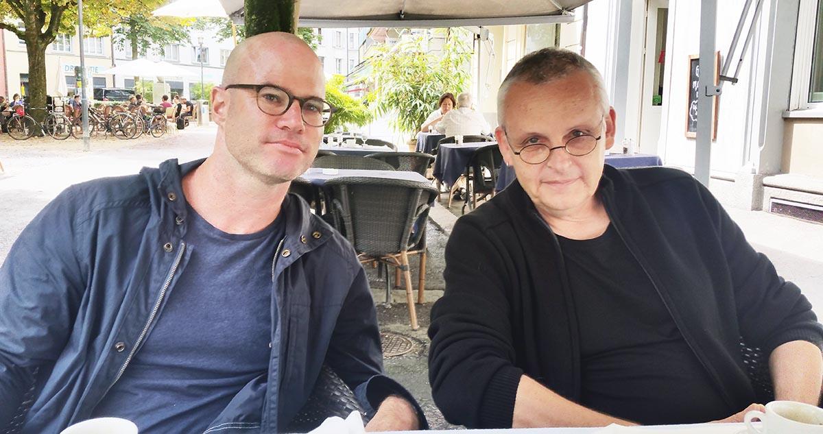 Daniel Scheuner (links) und Ralph Eichenberger stehen zusammen mit dem SIA hinter dem Millionenprojekt.