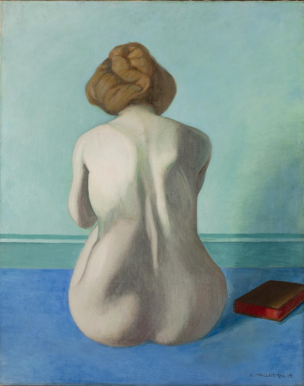 Das Gemälde Femme assise de dos, 1915, von Félix Vallotton. (Bild: zvg)