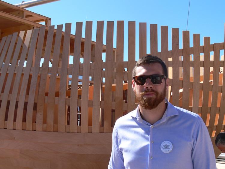 Max Arnold, Projektassistenz vom Kunsthaus Zug.