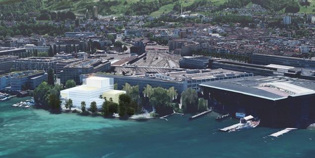 Visualisierung der Salle Modulable auf dem Inseli.