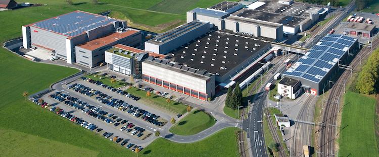 Der Hauptsitz in Rothenburg.