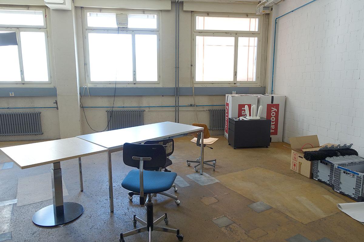 Hier studieren bald Informatiker und Kunststudenten.  (Bild: jwy)