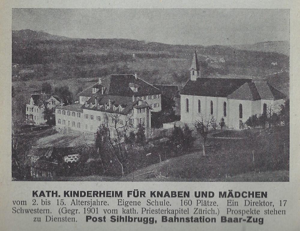 Unterrichtet wird hier noch immer. Doch wo früher das katholische Kinderheim war, steht heute die «International School».