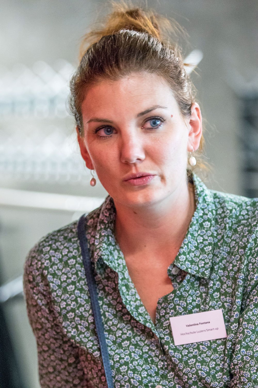 Valentina Fontana von der Hochschule Luzern sagt: «Es war Zeit für diesen Anlass.» (Bild: Ronny Baumann)