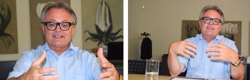 Stefan Roth während seines Interviews mit zentralplus (Bild: lwo).