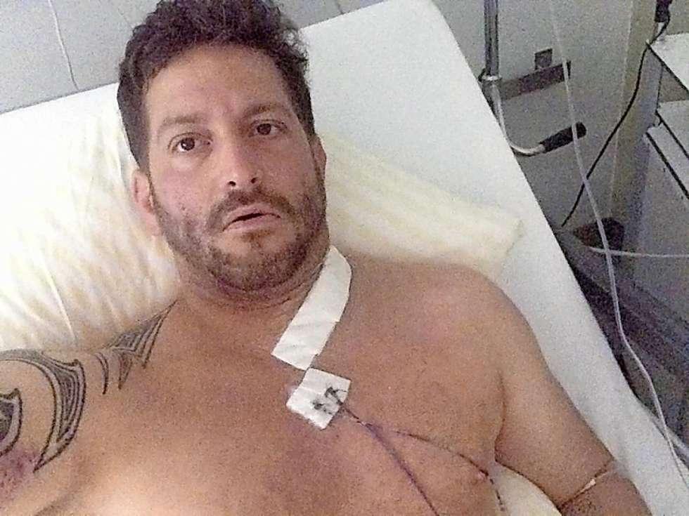 Rolf Fähndrich wurde lebensbedrohlich verletzt und lag vier Tage im Spital.