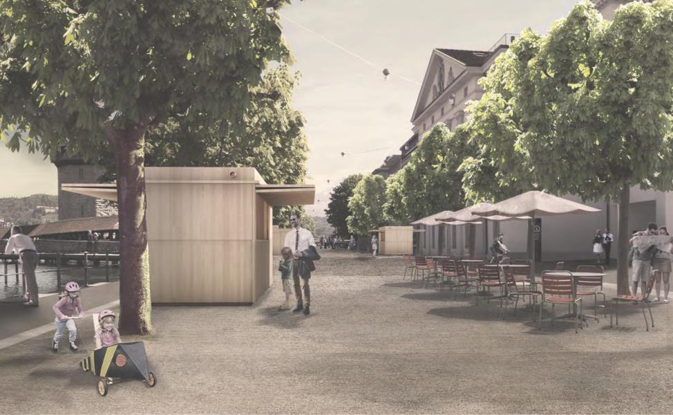Visualisierung des zweitrangierten Projekts Parisol.