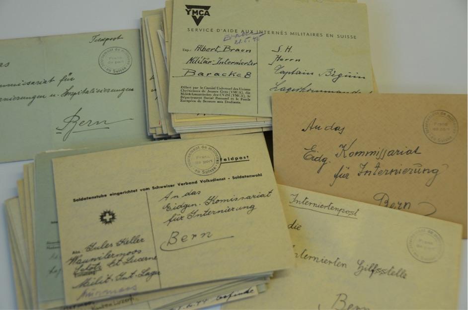 Einige jener Briefe, die André Béguin zurückbehielt, sind im Bundesarchiv einsehbar.