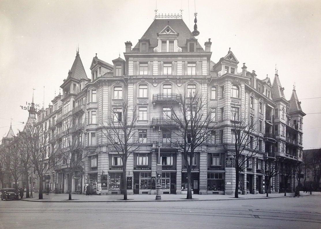 Der Pilatushof 1920. (Bild: Staatsarchiv/zvg)