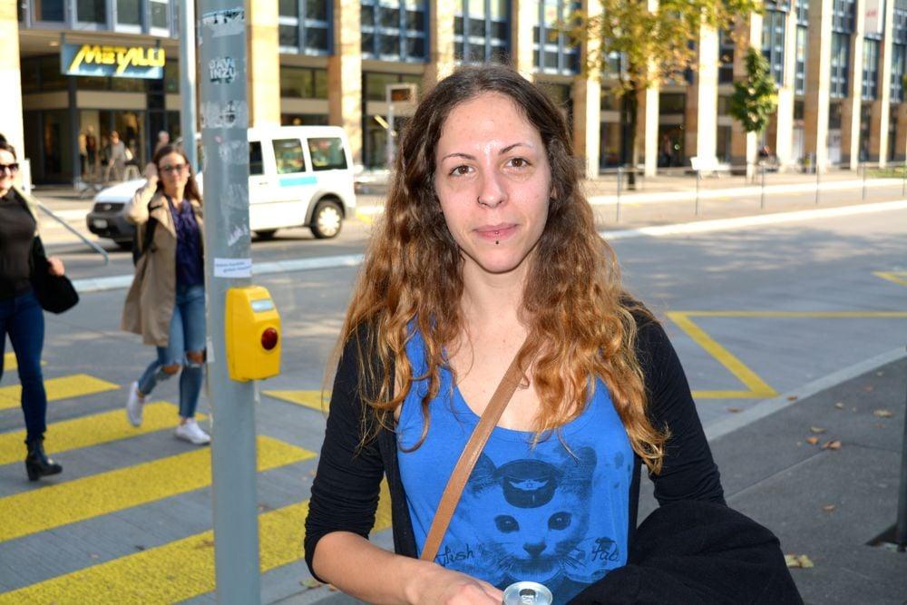 Claudia Frey, 26 Jahre: «Ich habe in der Oberstufe davon gehört. Es hat uns alle sehr mitgenommen.»