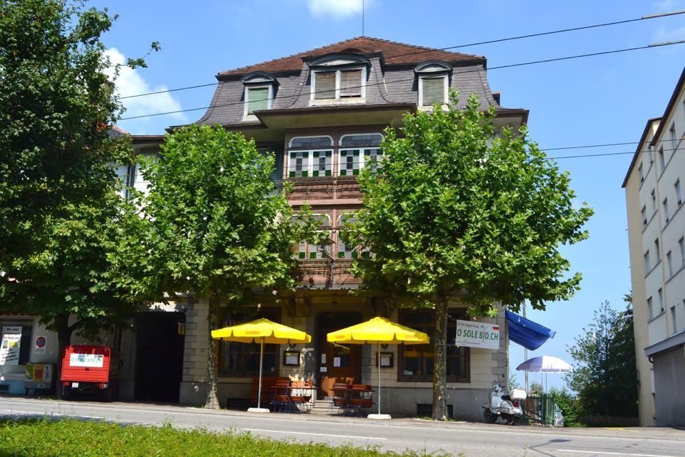 Im Gasthaus Adler in Emmenbrücke werden täglich vegane Speisen angeboten.