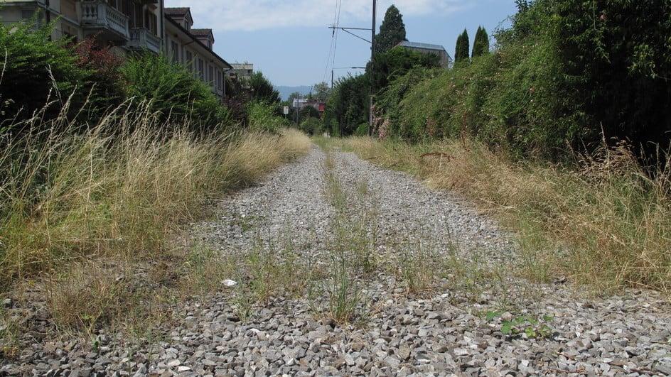 So sah es nach der Demontage der alten Zentralbahn-Gleise aus (Bild: zVg).