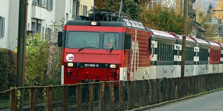 So sah es auf der Strecke aus, als die Zentralbahn noch durchfuhr (Bild: zVg).