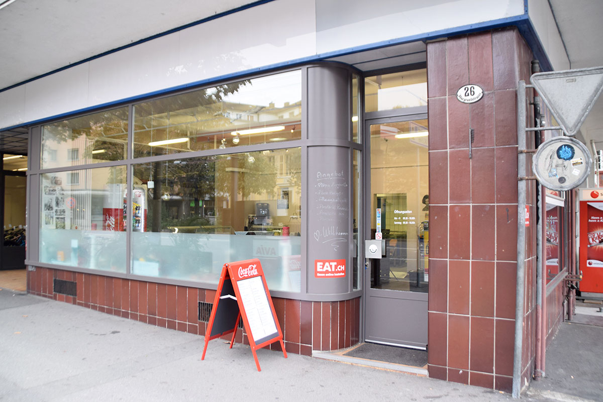 Das Lokal Made in Sud an der Obergrundstrasse: Bald soll es hier auch Sitzplätze geben. (Bild: jwy)