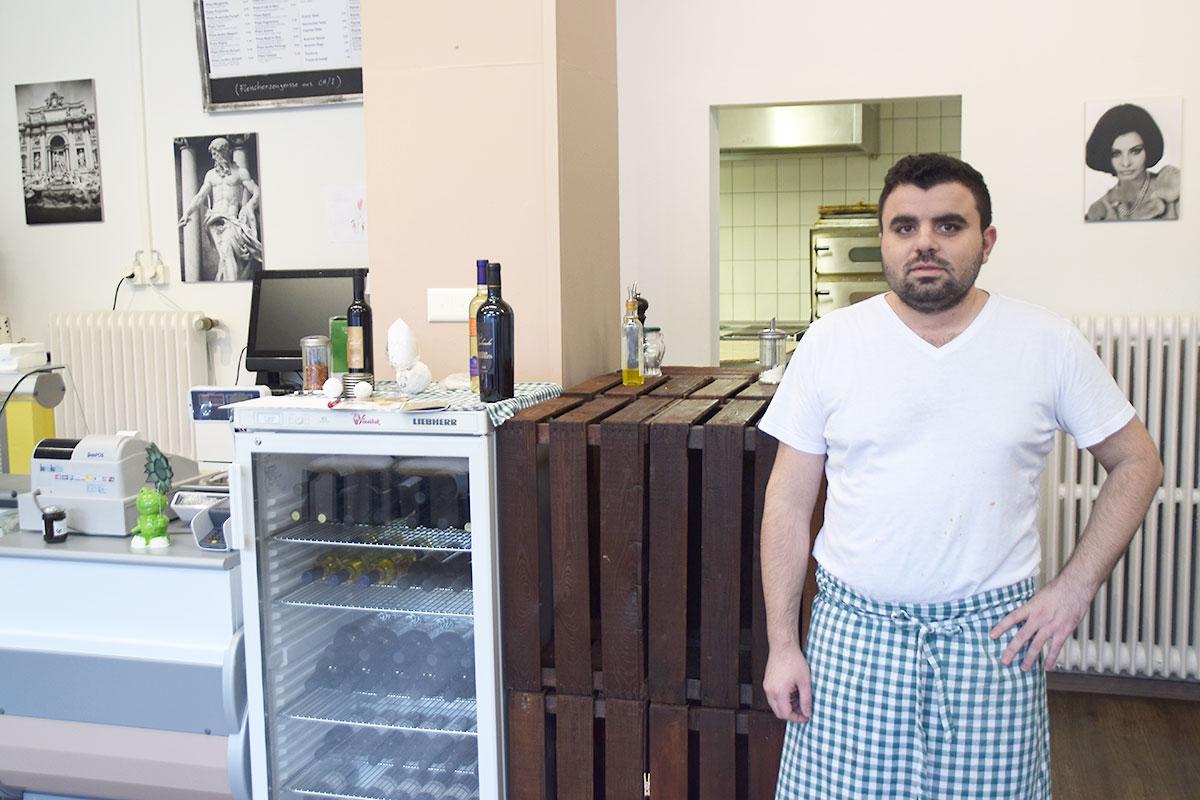 Masoud Younes im Take-away Made in Sud. (Bild: jwy)