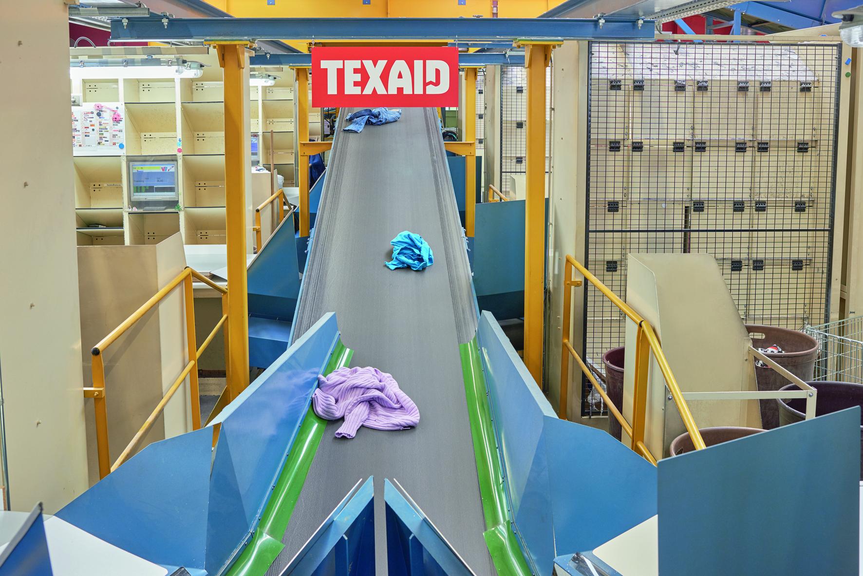 Die Texaid Textilverwertungs-AG hat ihren Sitz in Schattdorf (UR) und verarbeitet hier das Sammelgut weiter. (Bild: zvg)