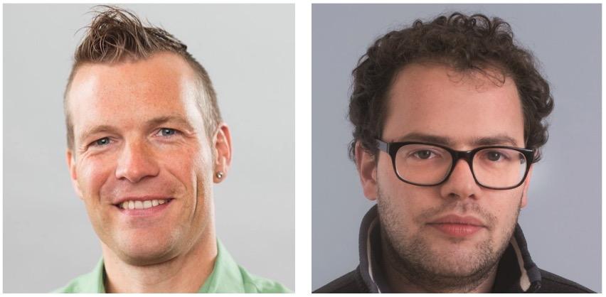 Marco Müller von den Grünen (links) und Simon Roth von der SP kritisieren den Luzerner Stadtrat (Bild: zVg).