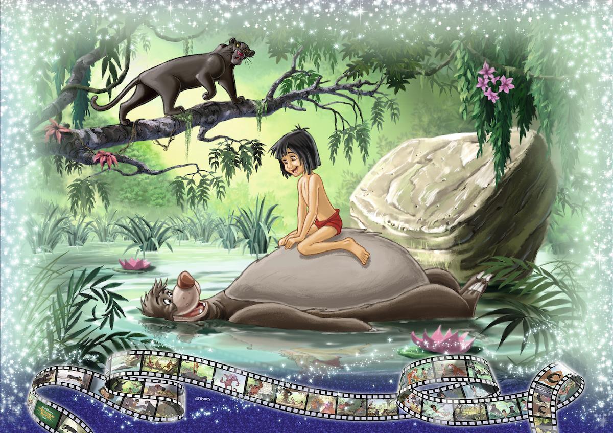Niemand ausser Wölfe und andere wilde Tiere nahmen «Mogli» auf, der sich alleine im Dschungel ausgesetzt fand.