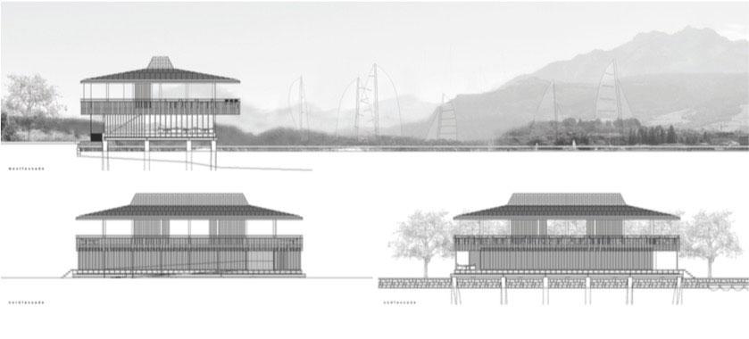Das Siegerprojekt «Lucerne» auf dem Plan. (Bild: zvg)