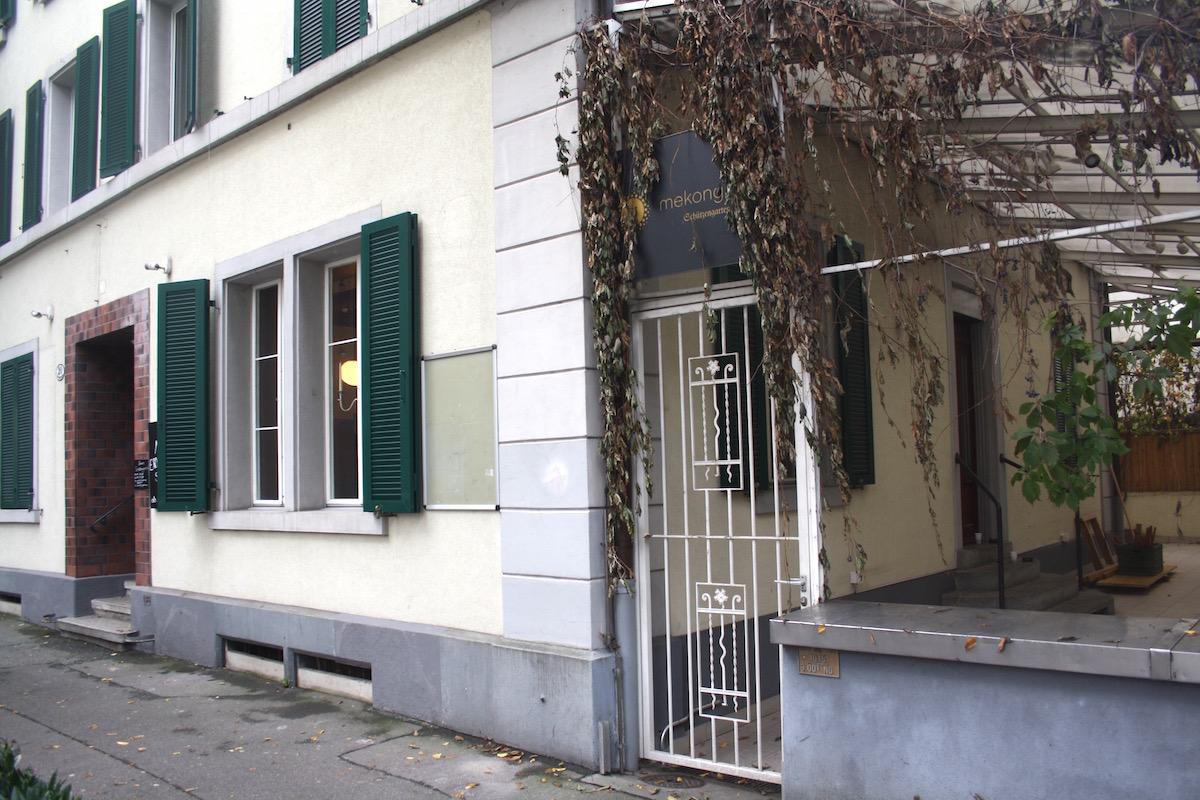 Das ehemalige Restaurant Schützengarten an der Bruchstrasse 20 wird zwischengenutzt.