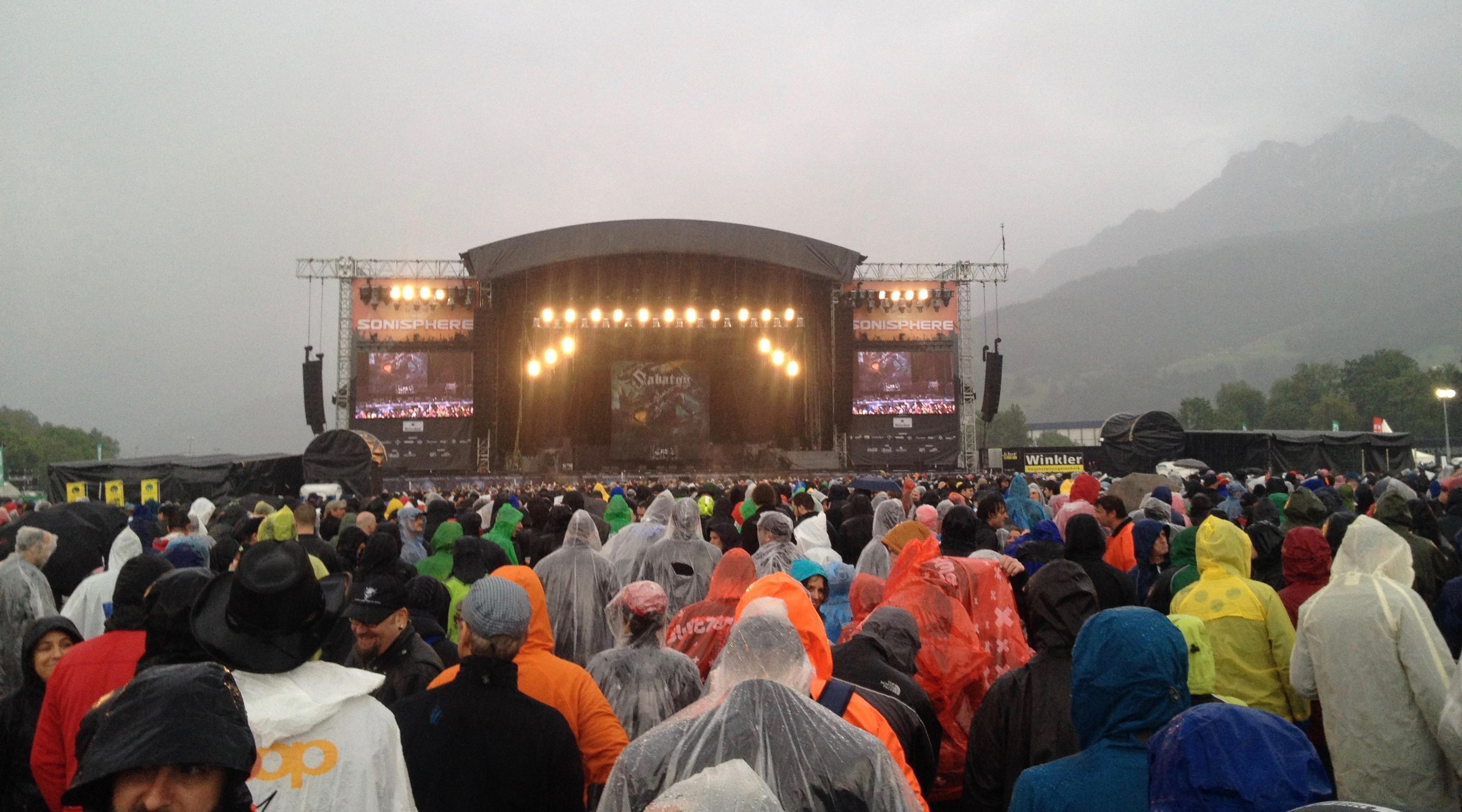 Trotz Regen, die Stimmung am «Allmend Rockt» war grandios.