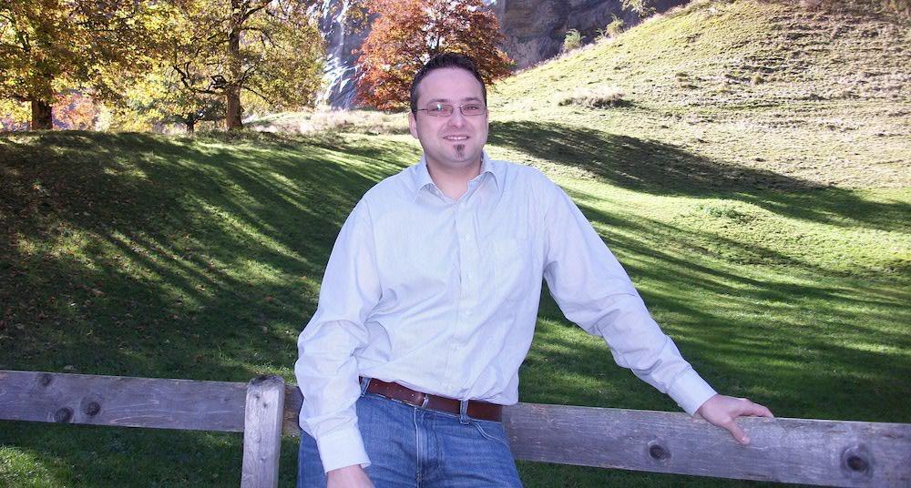 Thomas Schärli erholt sich in seiner Freizeit gerne in der Natur (Bild: zVg).
