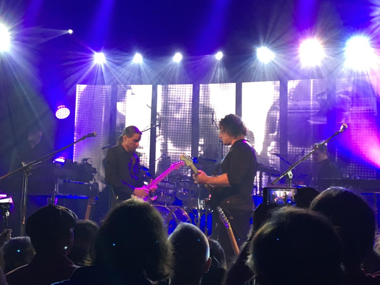 Ein weiteres Foto vom Konzert.