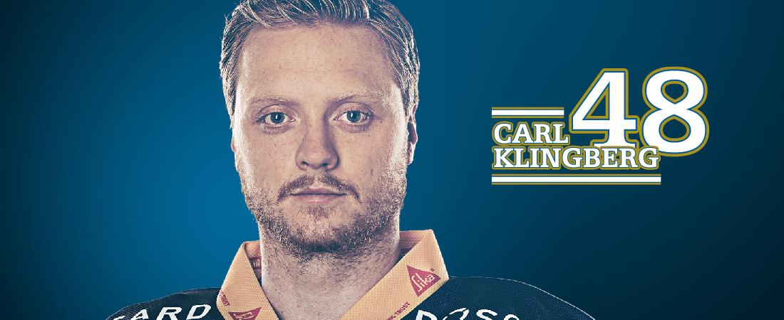 Carl Klingberg trägt beim EV Zug die Nummer 48.