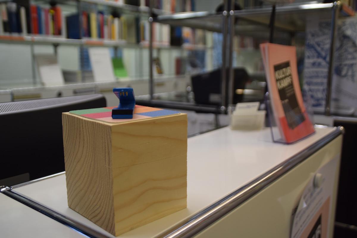 Der Stempel-Block im Archiv von Doku Zug.