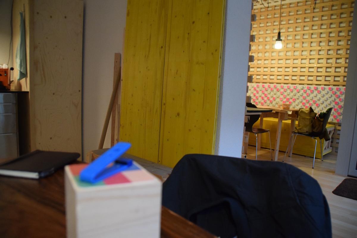 Pädagogik-Studenten holten ihren Stempel auch im Paettern lightup Atelier ab.