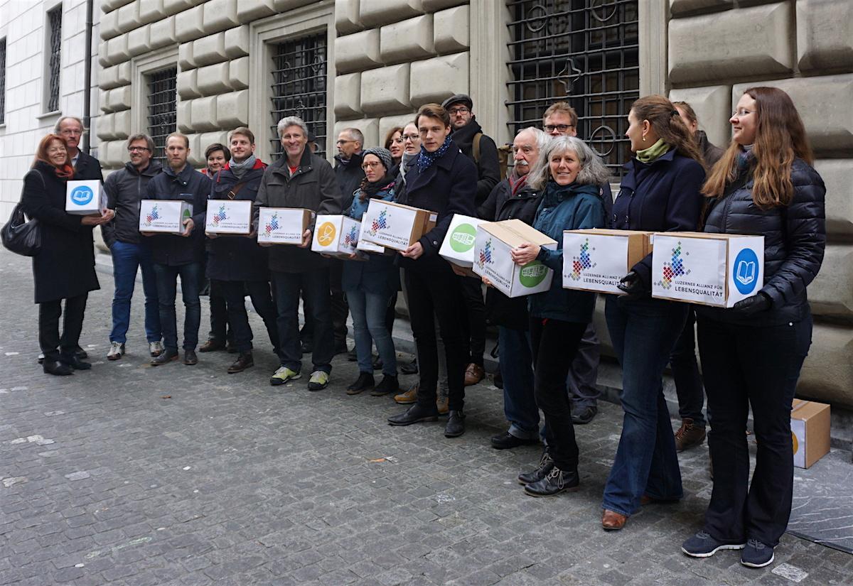 In der «Luzerner Allianz für Lebensqualität» sind knapp 40 Verbände und Organisationen vereint.