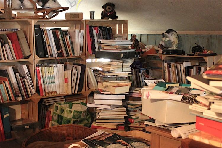 Stefan Wiesners Bibliothek.