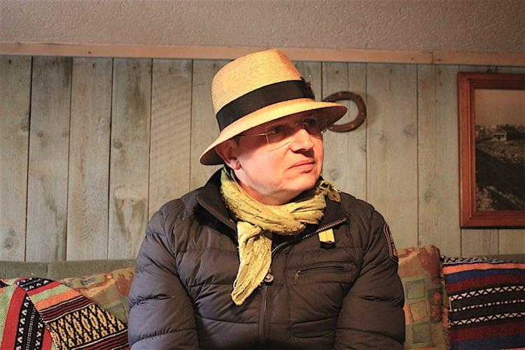 Poet, Künstler, Koch: Es ist nicht einfach, Stefan Wiesner in eine Schublade zu stecken.