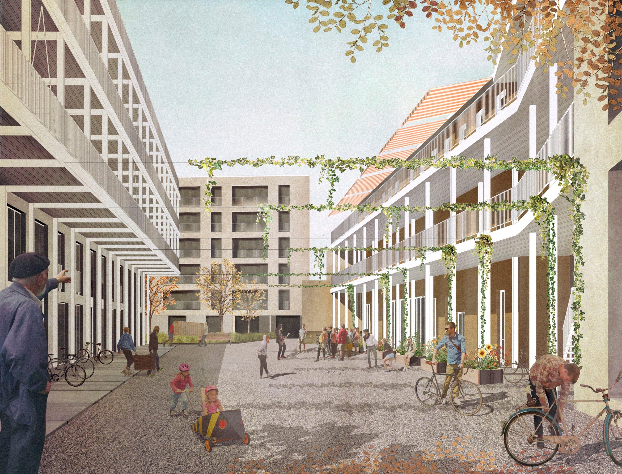 Das «wohnwerk» realisiert auf dem Teiggi-Areal Kriens eine gemeinnützige Siedlung mit rund 98 Wohnungen.