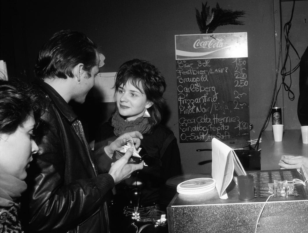 Vera Kaa im Sedel 1984. (Bild: Emanuel Ammon/AURA)
