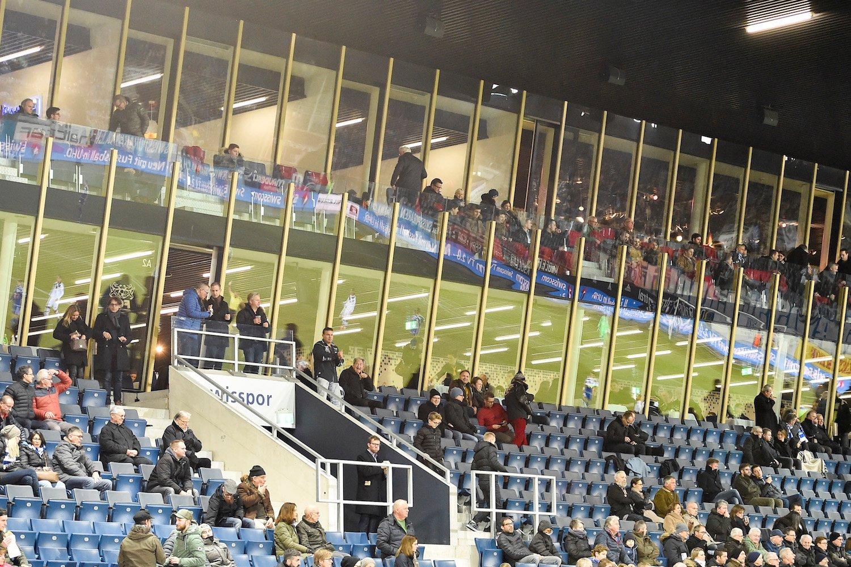 In den oberen Etagen des FCL-Stadions stehen rund 800 teurere VIP-Plätze zur Verfügung.