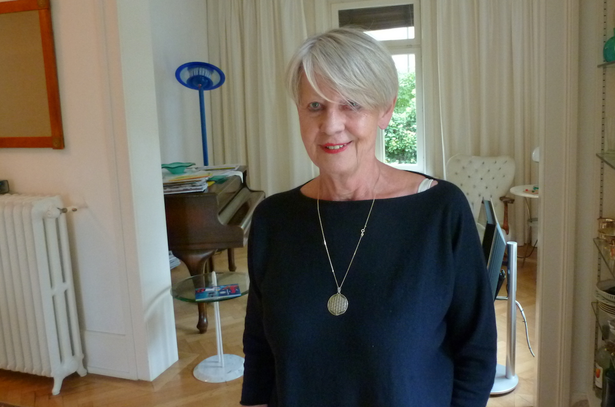 Die 74-Jährige engagiert sich stark für die Kultur in Luzern.