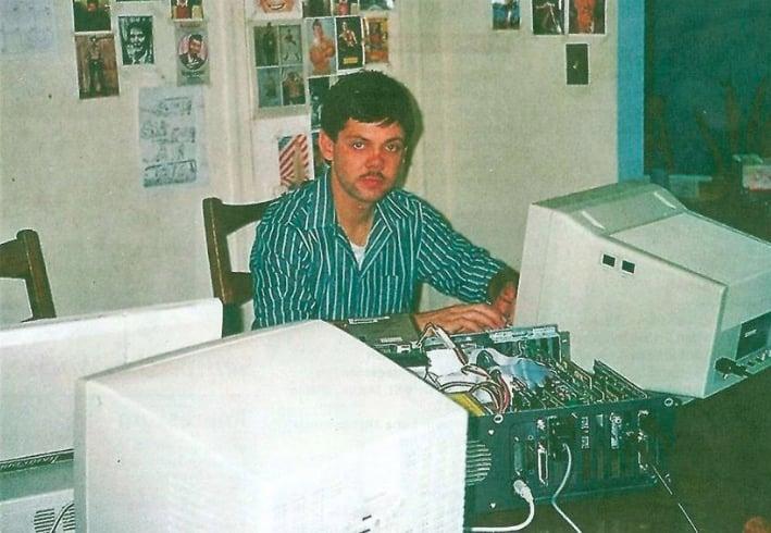 1989 verbrachte Franz Grüter ein Jahr in den USA.