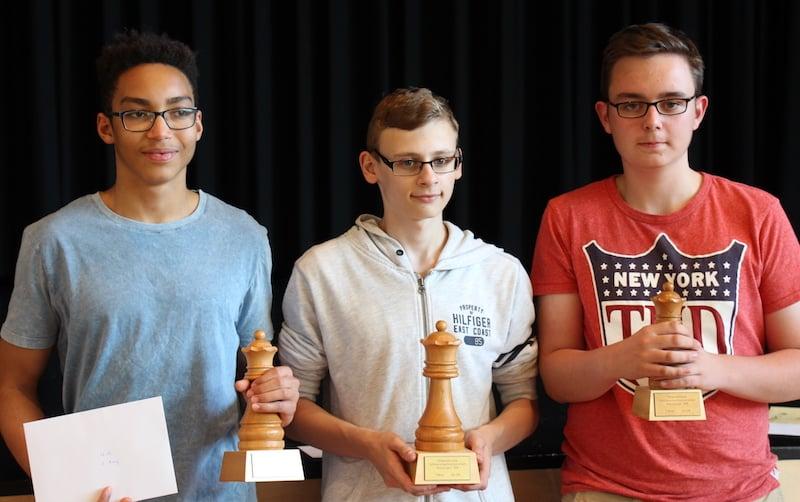 An der U-16-Schweizermeisterschaften holte Bänziger den ersten Platz.