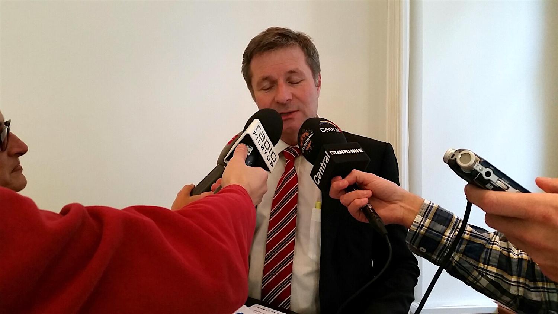 Marcel Schwerzmann gibt den Journalisten Auskunft über die geplanten Änderungen.