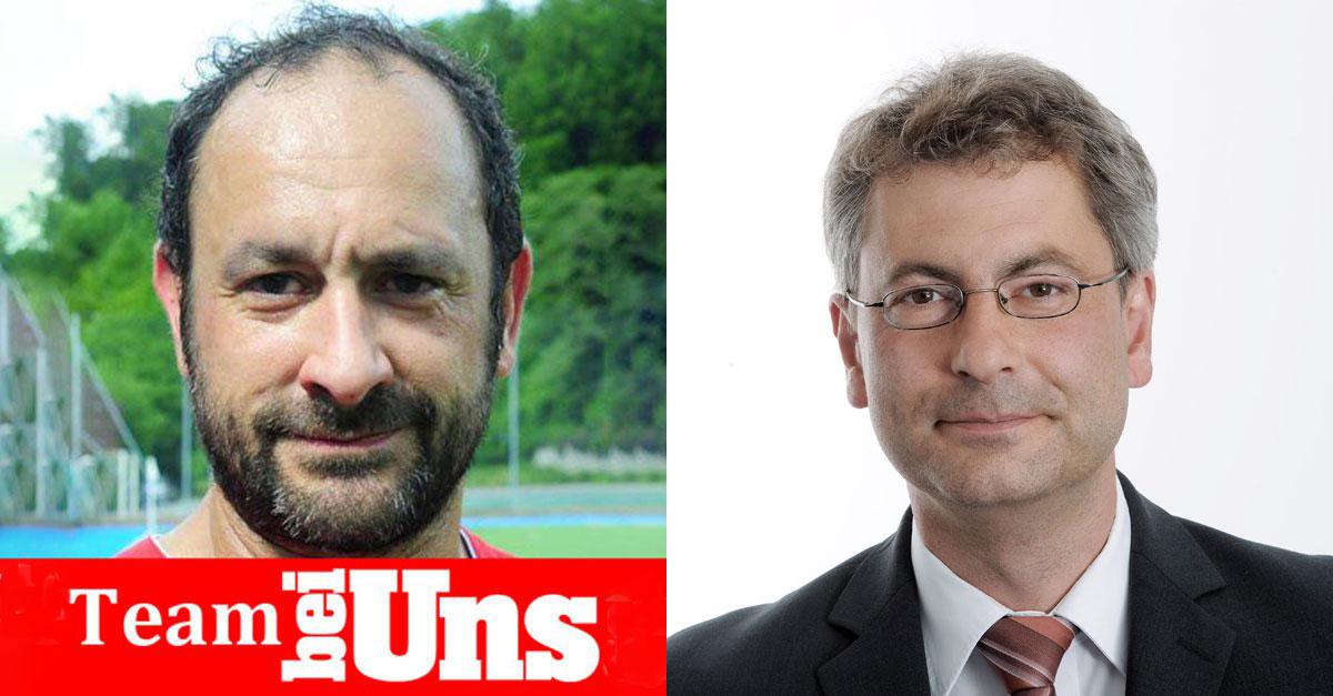 Bruno Affentranger (links) verkauft sein Onlineportal an Pascal Hollensteins LZ.